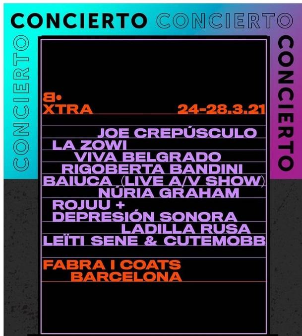 El Festival Cara•B se reinventa con Cara•B XTRA