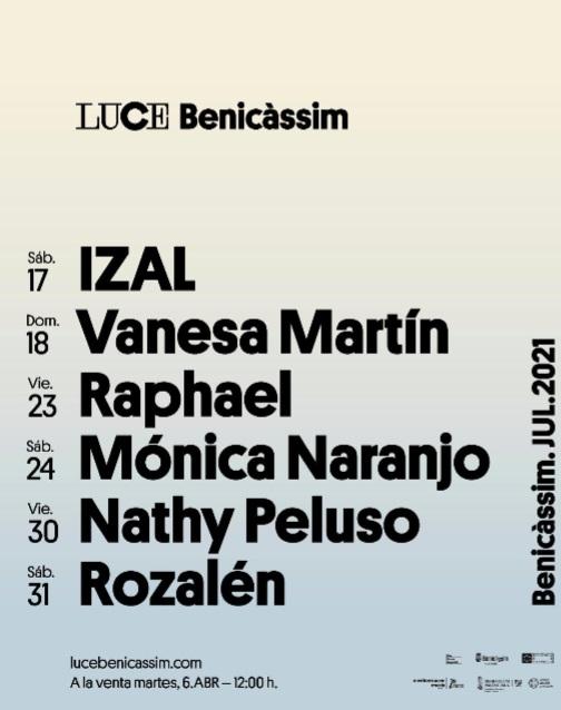 Luce-Benicassim-Primeras-Confirmaciones